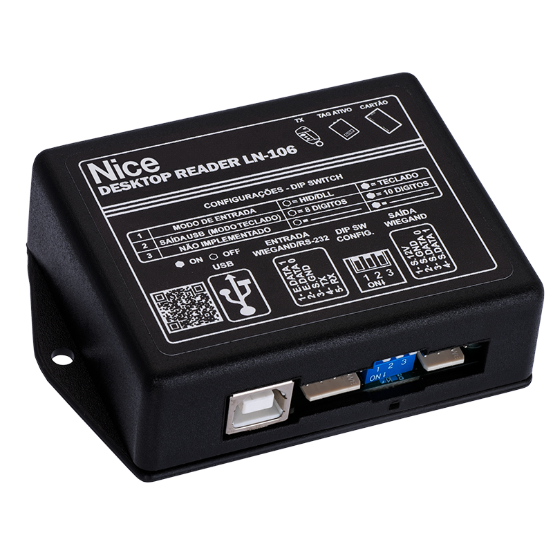 LEITOR LN-106 LINEAR-HCS USB MESA EM