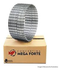 CONCERTINA SIMPLES GALVALUME 450MM 10MTS