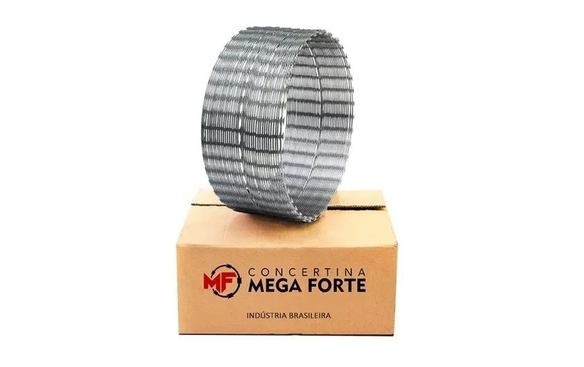 CONCERTINA SIMPLES GALVALUME 300MM 10MTS