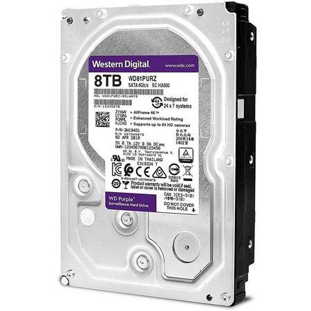 HD 8TB SATA 3 3,5 5400RPM 128MB WD80PUZ