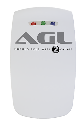 MODULO RELE WIFI 2 CANAIS AGL
